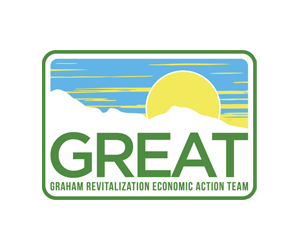 Graham Revitalization Economic Action Team logo